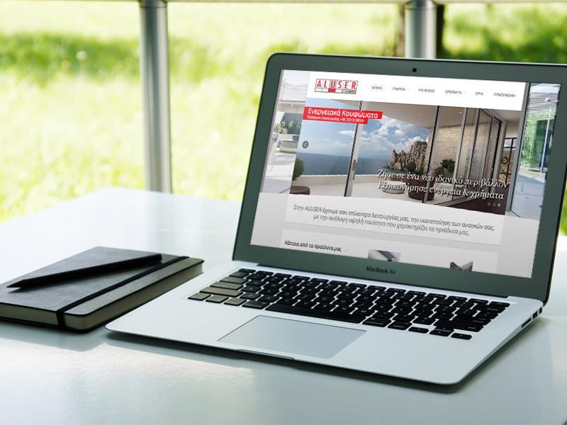 aluser.gr webappdesign.gr